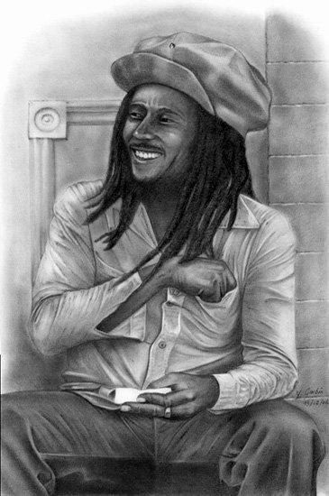 Mon chanteur préfère l'unique voici Bob Marley.