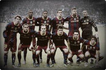 Mon club qui me fait temps rêver vive le Fc Barcelone.