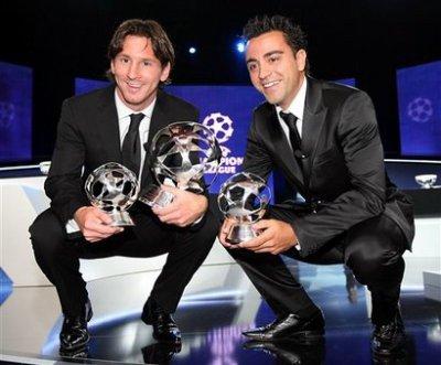 2 génie du football et c'est deux la formé à la masia pures produit de la formations catalanes.
