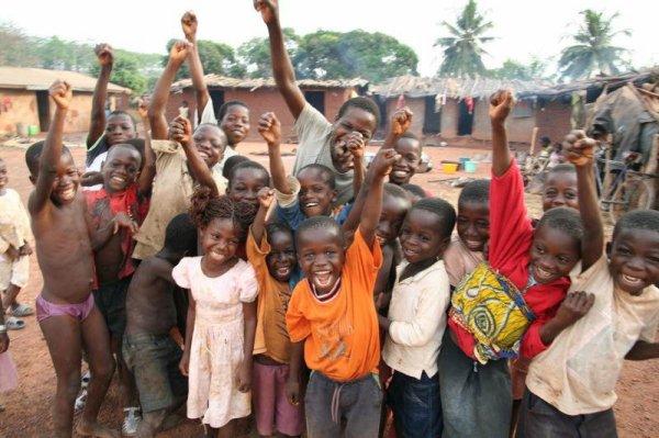 L'Afrique et les enfants c'est une grande histoire d'amour depuis tout petit :-) ♥