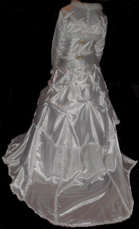 enfin la robe de mariée