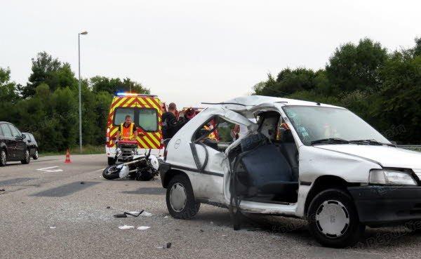 Mon accident de voiture