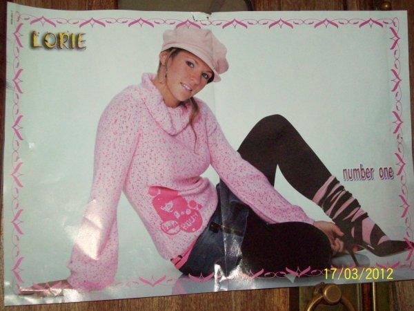 un de mes poster Lorie
