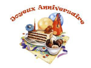 l'anniversaire de mon blog