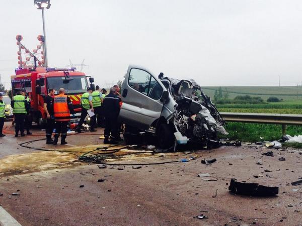 Accident de la route dans l'Aube: 6 morts dont 5 enfants