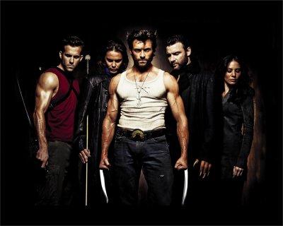 Le groupe des X-Men New Generation (histoire de Logan/Moi et Victor/Julien)