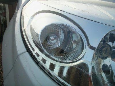 Changement des ampoules de clignotants avant (par des silver vision)
