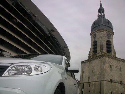 Un saut du beffroi d'Amiens