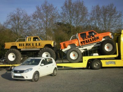 Sandy et les monster trucks