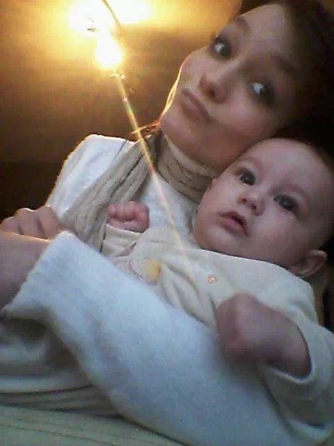 mon bebe et moi :)