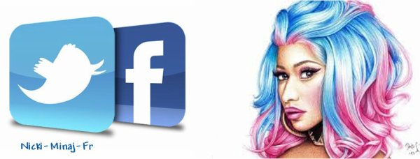Retrouver Nicki Minaj, sites officiels.