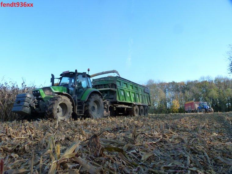Ensilage maïs MKS en 2014..