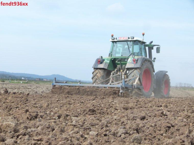 Préparation des terres