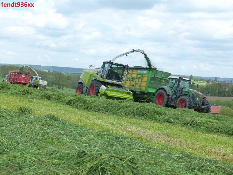 Ensilage d'herbes (Vital Laschet & fils)