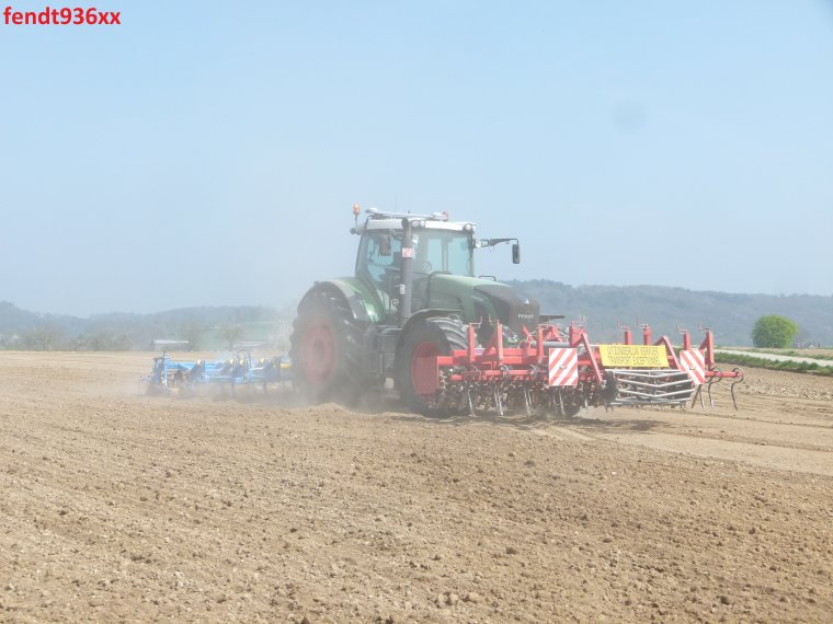 Préparation des terres et plantation PDT