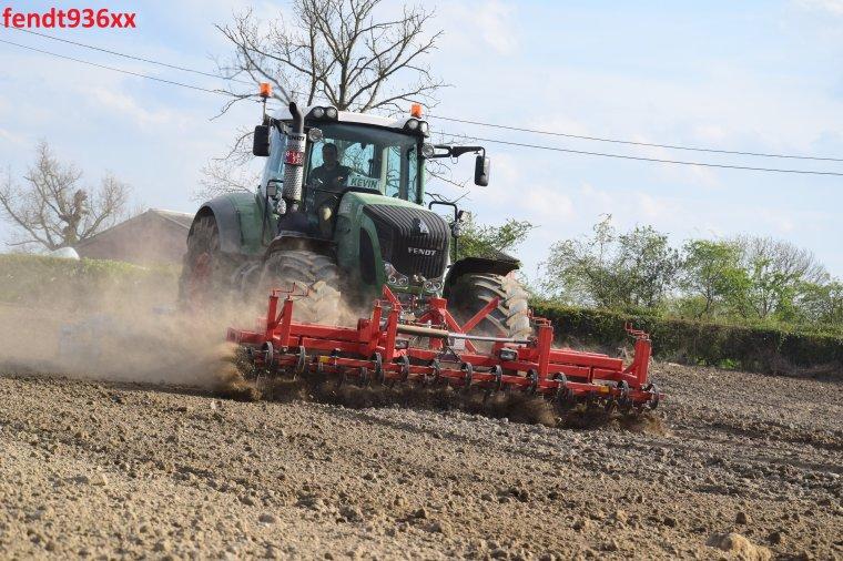Préparation des terres (Vital Laschet & fis)