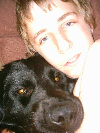 moi et mon tit chien