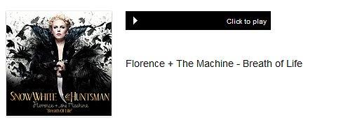 Florence + The Machine sur la BO de Blanche-Neige & le chasseur.