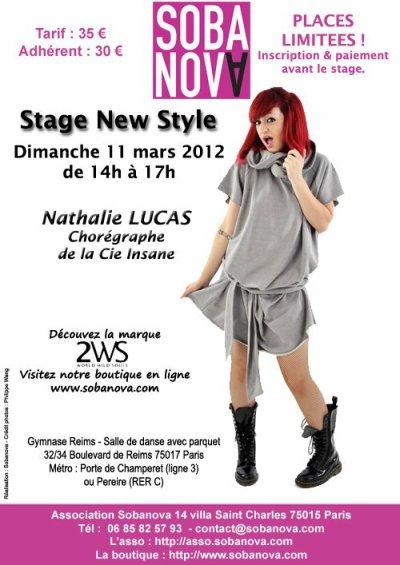 Stage dimanche 11 mars à paris en mode new burlesque!