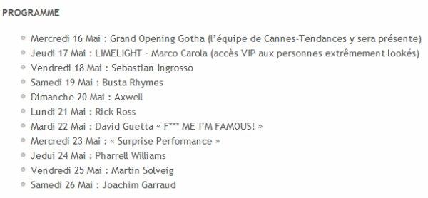 Festival de Cannes ( 2012 )