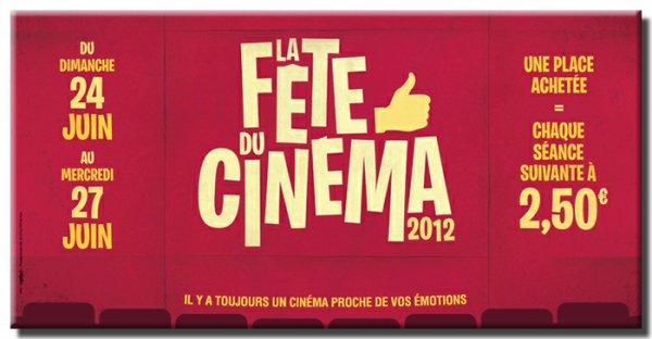 Fête du cinéma 2012