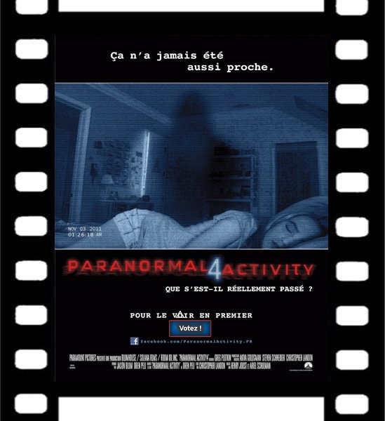 Film : Paranormal Activity 4