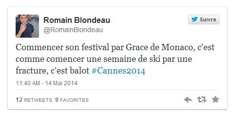 """★ Festival de Cannes ( 2014 ) ★  """"Grace de Monaco"""" croule sous les critiques assassines…"""