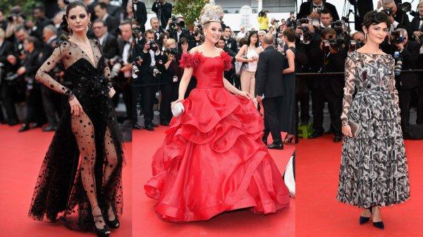 ★ Festival de Cannes ( 2014 ) ★  Les pires looks du tapis rouge