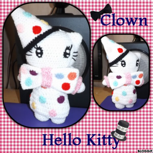Hello Kitty Clown