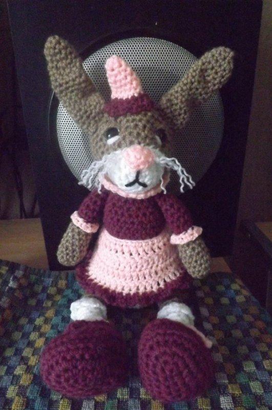 doudou lapin craquant en vente dans ma boutique