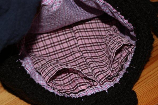 Créa sac Krokmou,crochet et couture