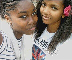 Ma cousine et moi ♥