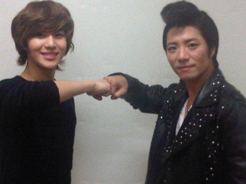 {TWITTER} 120421 | Taemin et Im Taekyung : Le staff d'ISM2 tweet à propos des adieux de Taemin ✰彡