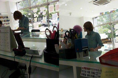 {NEWS} 120516 | Onew vu dans une boutique de téléphonie mobile ✰彡