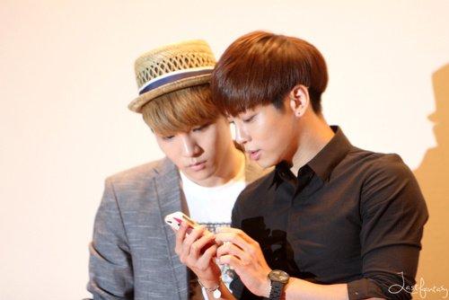 {PHOTOS} 120627 | Jonghyun & Key @ I'AM. Showcase ✰彡