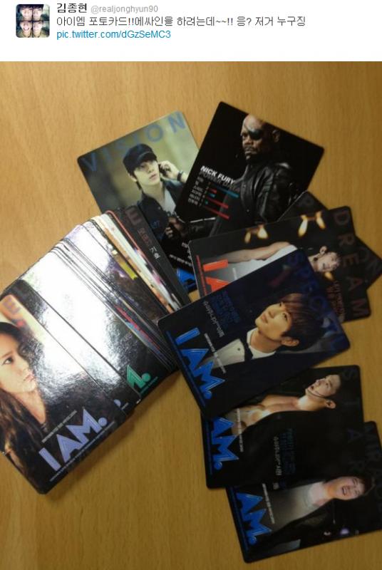 {TWITTER} 120627 | Nick Fury dans les cartes de I AM. ? ✰彡