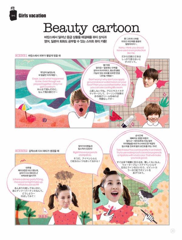 {PHOTOS} 120627 | SHINee pour le magazine en ligne 'Etude House Beauty Book' ✰彡