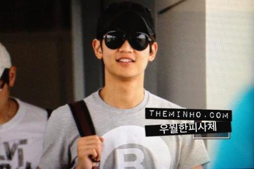 {PHOTOS} 120702 | Minho @ Incheon Aéroport ✰彡