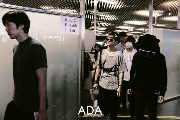 {PHOTOS} 120704 | SHINee @ Incheon (Retour en Corée) ✰彡