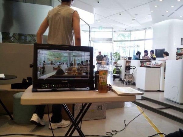 {PHOTO} 120708 | Minho sur le tournage de son drama 'To the beautiful you' ✰彡
