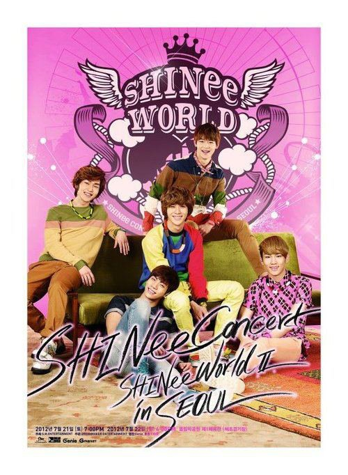 {PHOTO} 120710 | Affiche du SHINee World II ✰彡