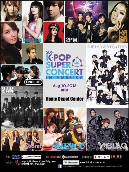 {NEWS} 120710 | SHINee au 'SBS KPOP Super Concert' à L.A ✰彡