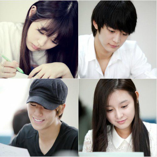 {NEWS} 120711 | La première lecture du script de 'To the beautiful you' avec Minho ✰彡