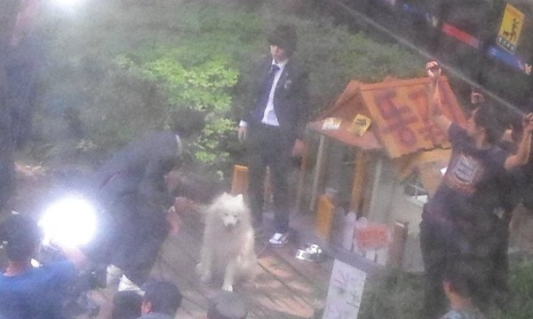{PHOTOS} 120712 | Minho et Sulli sur le tournage de 'To the beautiful you' ✰彡