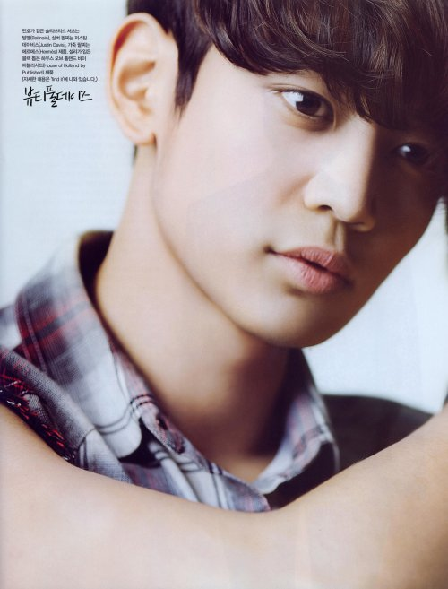 {PHOTOS} 120717 | Scans HQ de Minho pour Vogue Girl ✰彡