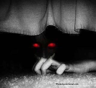 Sous ton lit....