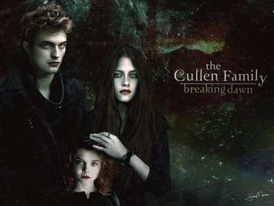 oky..this is the last episod of Twilight-saga (Breaking dawn)