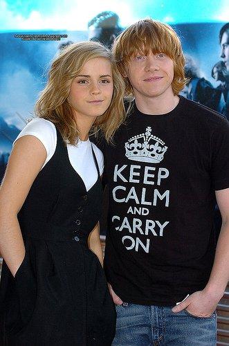 Rupert Grint dit tout sur son baiser avec Emma Watson