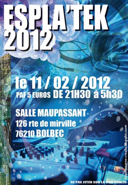 Espla'tek 2012 samedi 11 fevrier