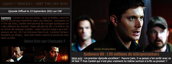 > Article n°? : Supernatural - Saison 7 - Episodes